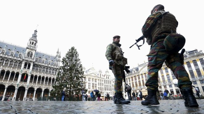 Terror Bombing in Brussels and Paris