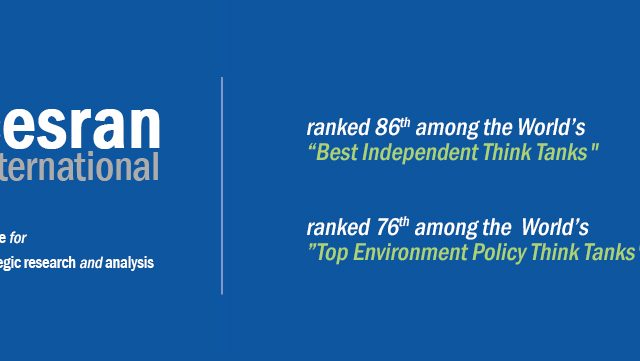 "CESRAN International named the World's #86 ""Best Independent Think Tank"""
