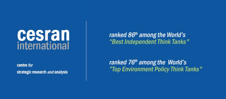 """CESRAN International named the World's #86 """"Best Independent Think Tank"""""""