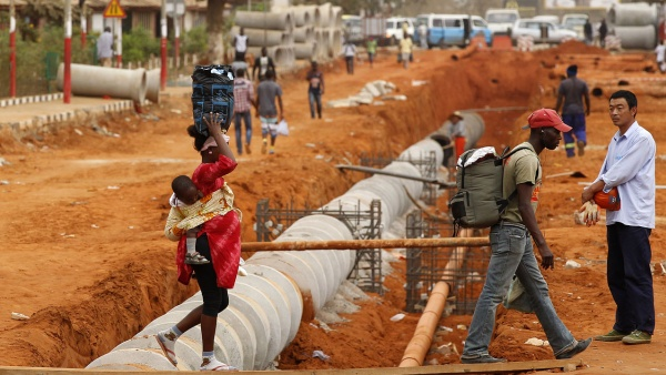 CHINA'S ATTITUDE  MAY HINDER ITS QUEST FOR  AFRICA'S NATURAL RESOURCES