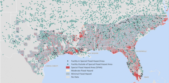 Flood Hazard Risk Exposure in the United States an Issue After ... on map of the country, map of america, map of guam, map of the philippines, map of the east coast, map of the states and capitals, map of the bahamas, map of the continents, map of the northeast, map of the us states, map of bermuda, map of the caribbean, map of the oceans, map of czech republic, map of the world, map of washington, map of the mason dixon line, map of usa, map of the great lakes, map of the earth,