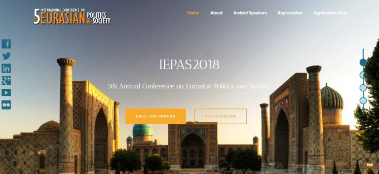 Call for Papers | the 5th Annual Conference on Eurasian Politics & Society