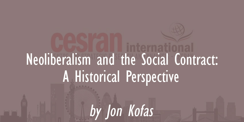 Neoliberalism and the Social Contract: A Historical Perspective