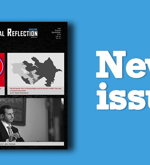 The 16th issue of PR (Political Reflection Magazine) is out now…