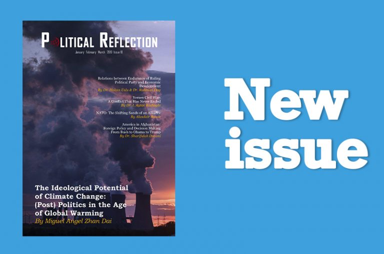 18th Issue of Political Reflection Magazine is Out Now!