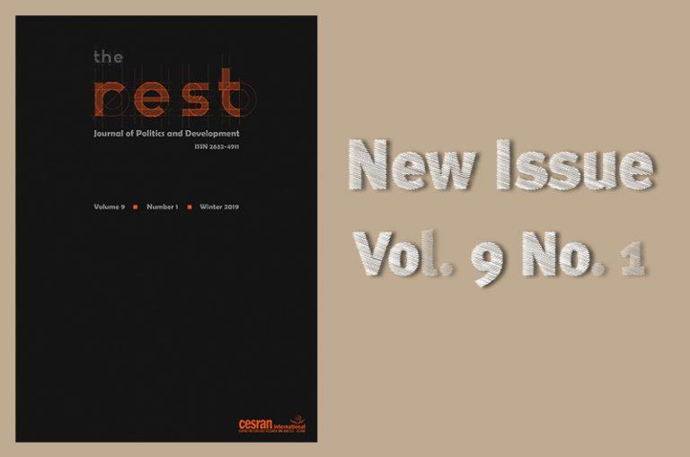 The 17th issue of the rest: journal of politics and development is out now.