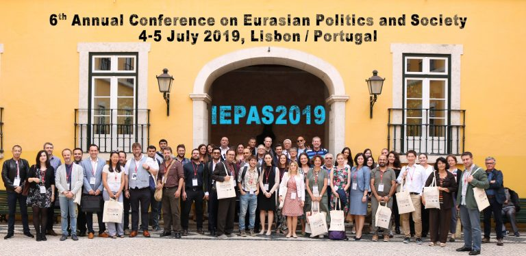 The IEPAS2019 (6th Annual Conference on Eurasian Politics and Society) has been completed successfully.